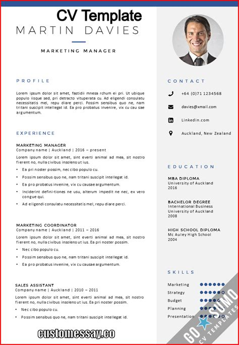 A Cv by Where Can You Find A Cv Template