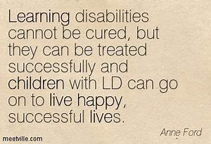 kids with learn... Learning Difficulty Quotes