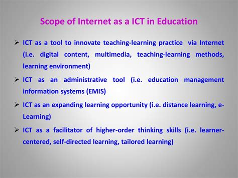 role  icts  key sectors  society ict standards