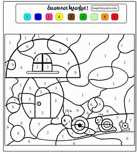Jardin Dessin Couleur : les 25 meilleures id es de la cat gorie coloriage magique ~ Melissatoandfro.com Idées de Décoration