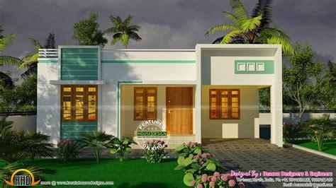 bedroom small budget house plan kerala home design  floor plans  houses