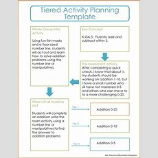 Using Color To Help You Tier Differentiated Activities  Differentiated Kindergarten
