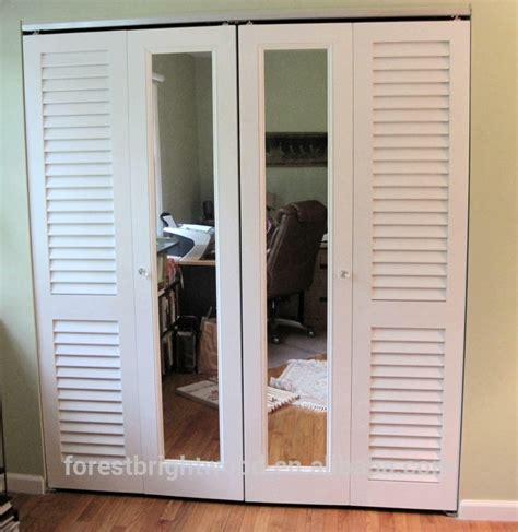 Louvered Sliding Closet Doors by Gallery Louvered Sliding Closet Doors With Mirrors Buy