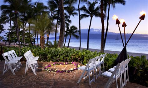 maui wedding venues  westin maui resort spa kaanapali