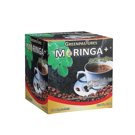 We drink so much coffee, that this is an easy place to reduces your overall intake of acidic food and drink. Moringa+® Gold Coffee with Coco Sugar (Box of 10 ...