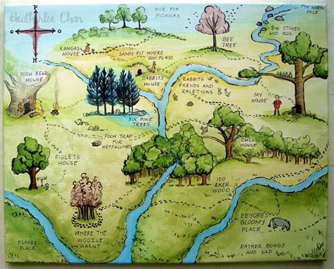 Winnie The Pooh Map