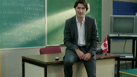 justin trudeau teaching resume trudeau says i m proud to be a in new ad ctv news