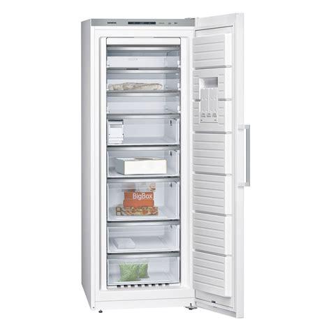 siemens gs58naw41 nofrost upright freezer in white 1 91m