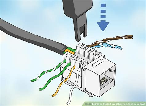 How Install Ethernet Jack Wall With Pictures