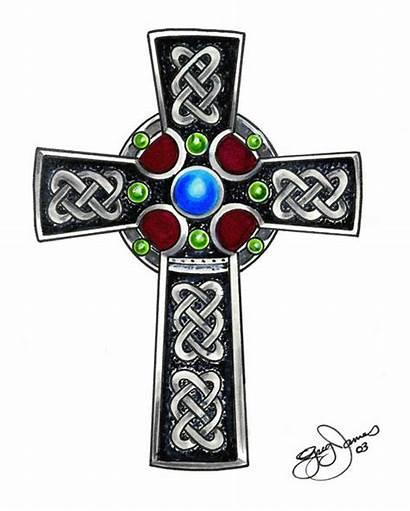 Celtic Cross Clipart Crosses Meaning Tattoos Symbols