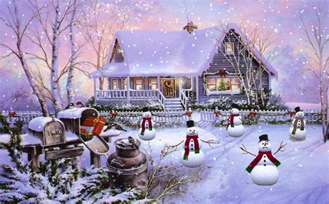Animated Snowman Wallpaper - snowman screensavers and wallpaper wallpapersafari