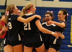 GIRLS HIGH SCHOOL VOLLEYBALL: COUGARS WIN EPIC BATTLE OVER ...