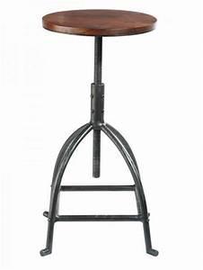 Tabouret Haut Maison Du Monde : neodoljive barske stolice u industrijskom stilu uredite dom ~ Teatrodelosmanantiales.com Idées de Décoration