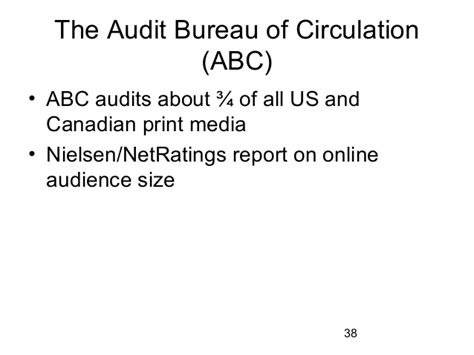 audit bureau of circulation chapter 4 newspaper