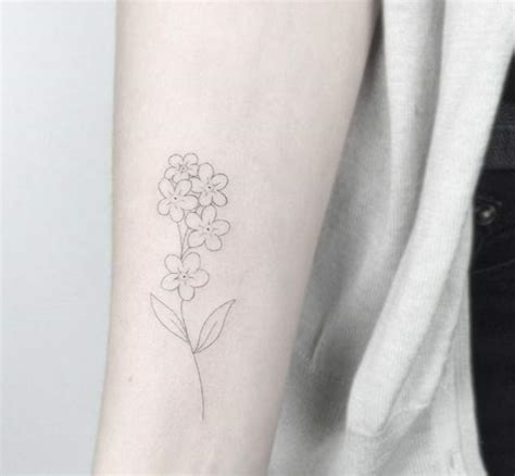 Small Poppy Tattoo Ankle