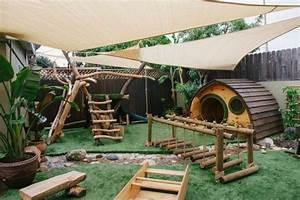 Jeux Exterieur Pas Cher : aire de jeux pour enfants nos id es de structures pas ~ Farleysfitness.com Idées de Décoration