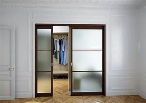 Dressing Avec Porte : portes coulissantes pour dressing patcha ~ Premium-room.com Idées de Décoration