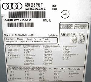 Audi Rns E Wiring Diagram