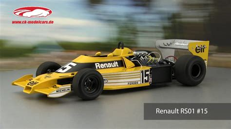 renault rs01 ck modelcars video jean pierre jabouille renault rs01 15