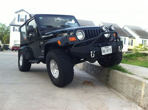 wide jeep smittybilt wrangler 4 fender flares 6 in wide 17190 97