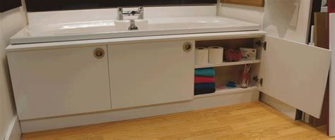 Bath Panel Cupboard by Storage Bath Panel Cabinet Any Colour Finish