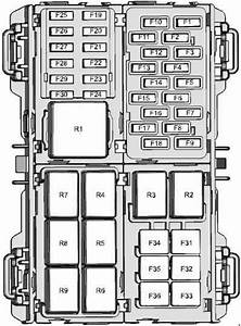 Ford Fiesta  2008 - 2017  - Fuse Box Diagram