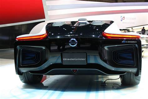 Nissan Bladeglider Concept Rear Indian Autos Blog