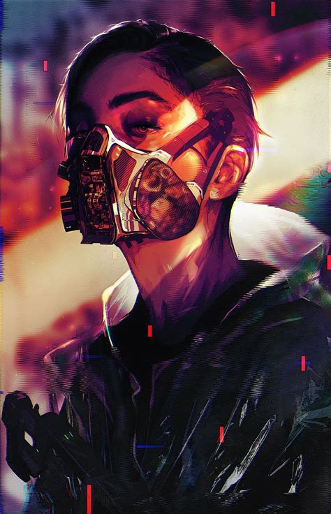 Start your search now and free your phone. HD phone wallpapers — Cyberpunk girl phone wallpaper, cleanup Crew by...