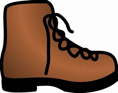 Brown Clipart Objects Boot Simple Clip Transparent