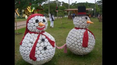 amazing  unusual diy snowmen christmas decoration ideas