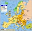 Map of Europe - Member States of the EU - Nations Online ...