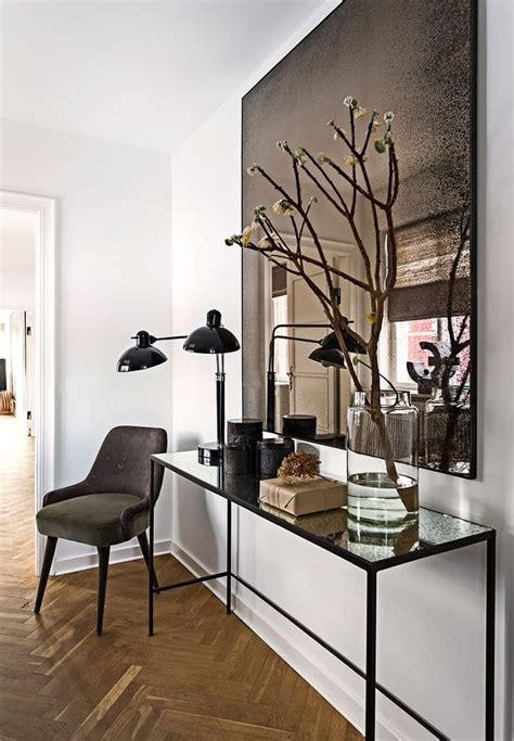 foyer mirrors entrywaydecorideas entrywayideas dramatic yet simple is