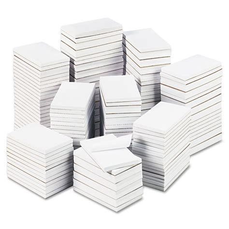 Office Supplies In Bulk by Bulk Scratch Pads Unruled 3 X 5 White 180 100 Sheet