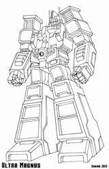 Magnus Ultra Transformers Coloring Prime Rescue Bots Kleurplaten Deviantart Larger Ajs Credit Arts Ultramagnus Sketch sketch template