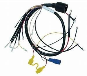 Johnson Evinrude Wiring Harness 1988