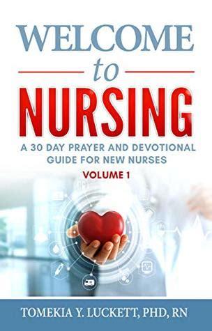 nursing   day prayer  devotional guide