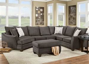 american furniture 3810 sectional sofa that seats 5 with With american home furniture couches