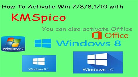 how to activate windows 7 8 8 1 10 all versions with kmspico for free 2016