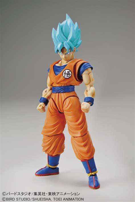 figure rise standard dragon ball super super saiyan blue