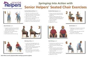 spring into action with seated chair excercises senior
