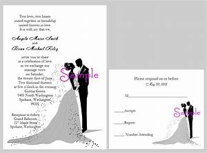 wedding invitation from bride and groom With wedding invitations with photos of bride and groom