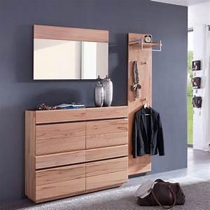 Garderobe 3 Teilig : garderoben set teilig kernbuche astor g nstig kaufen ~ Indierocktalk.com Haus und Dekorationen