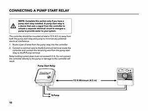 Connecting A Pump Start Relay