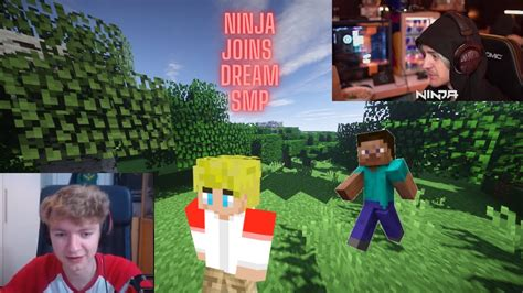 Ninja Being Funny On Dream Smp Youtube