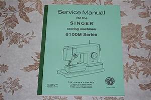Service Manual On Cd For Singer 6101 6102 6103 6104 6105