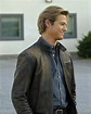 Lucas Till Dark Brown Real Distressed Sheep Skin Leather ...
