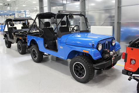 jeep mahindra the mahindra roxor is ready for off roading in the us with