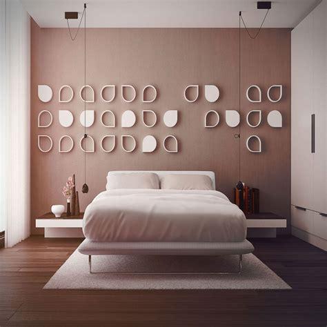 motif wallpaper  kamar tidur utama renovasi