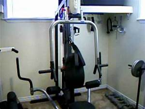 Steves Home Gym Weight Lifting Equipment - YouTube