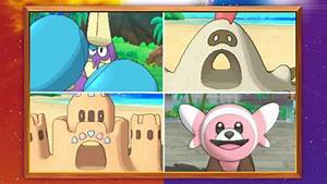 Five New Alolan Pokemon, Including A Lump of Sand ...
